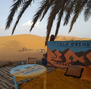 2 NIGHTS IN MERZOUGA SAHARA CAMP AND OVERNIGHT CAMEL TREK WITH DESERT EXCURSION 4X4