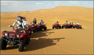 Merzouga quad excursions,Erg Chebbi quad trips in dunes