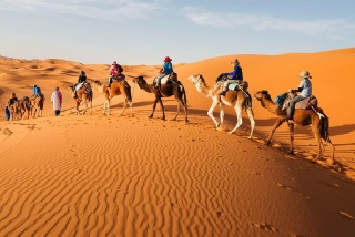 Merzouga desert excursions, Morocco private tours from Marrakech
